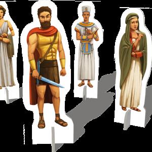 Alexandria Heroes standees 3D