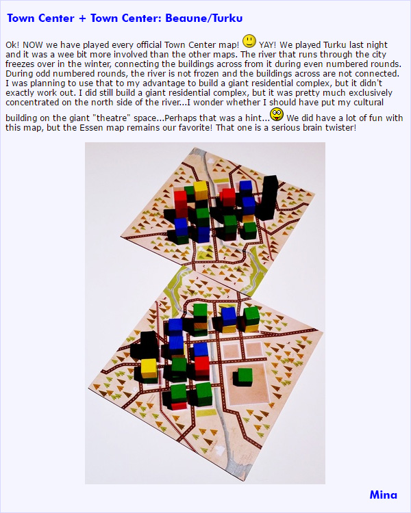 BGG Review of Town Center