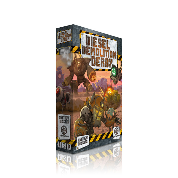 Diesel Demolition Derby box 3D