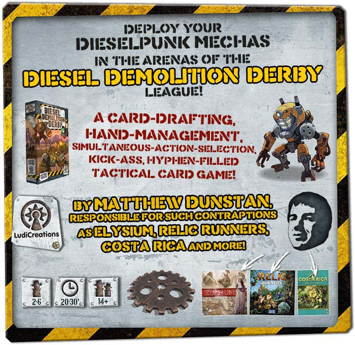 Diesel Demolition Derby summary