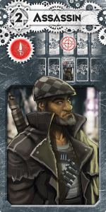 LLtQ Assassin Dieselpunk Black