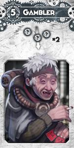 LLtQ Gambler Dieselpunk White