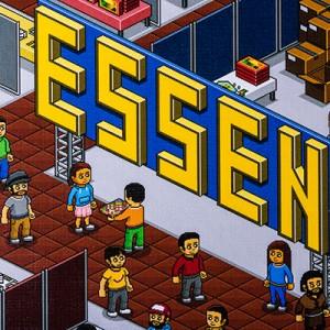 ESSEN box detail photo closeup