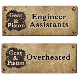 Gear & Piston mini-expansions