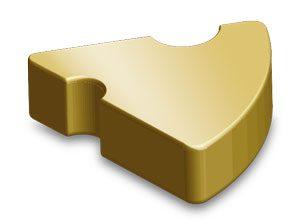 Mythe - golden cheese token