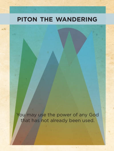 They Who Were 8 - tiles - Piton the Wandering
