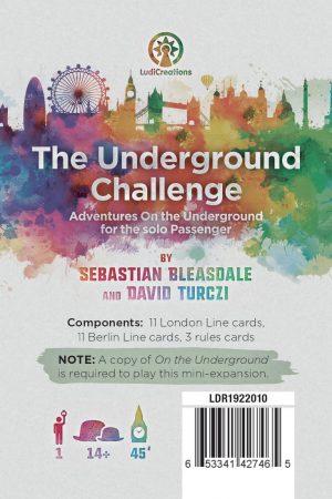 The Underground Challenge cover