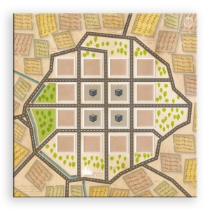 Town Center - Beaune map