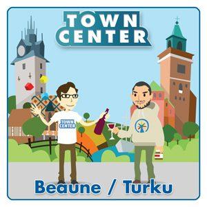 Town Center: Beaune / Turku logo