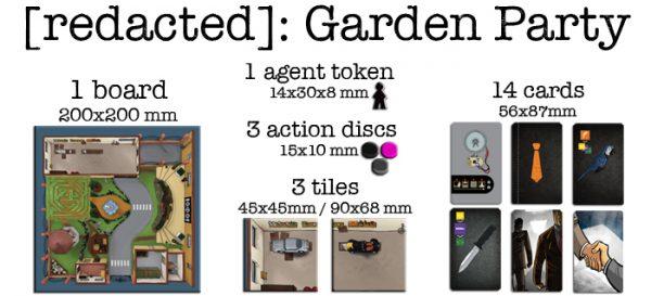 [redacted]: Garden Party contents
